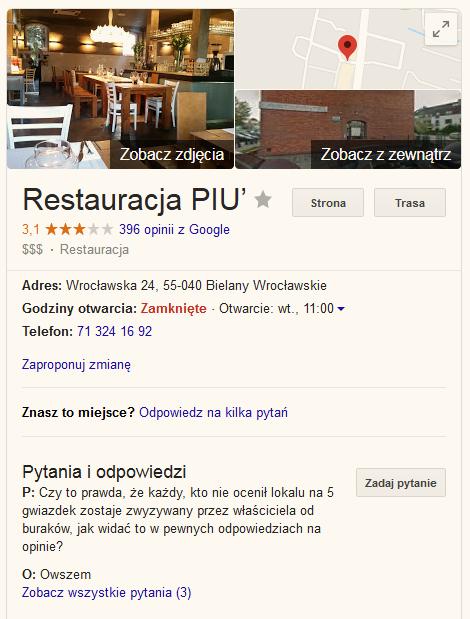 restauracja piu