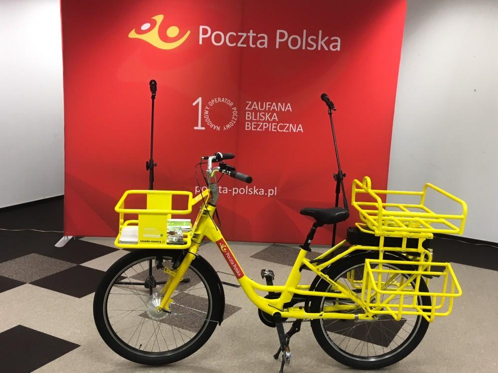 rowery elektryczne listonosze
