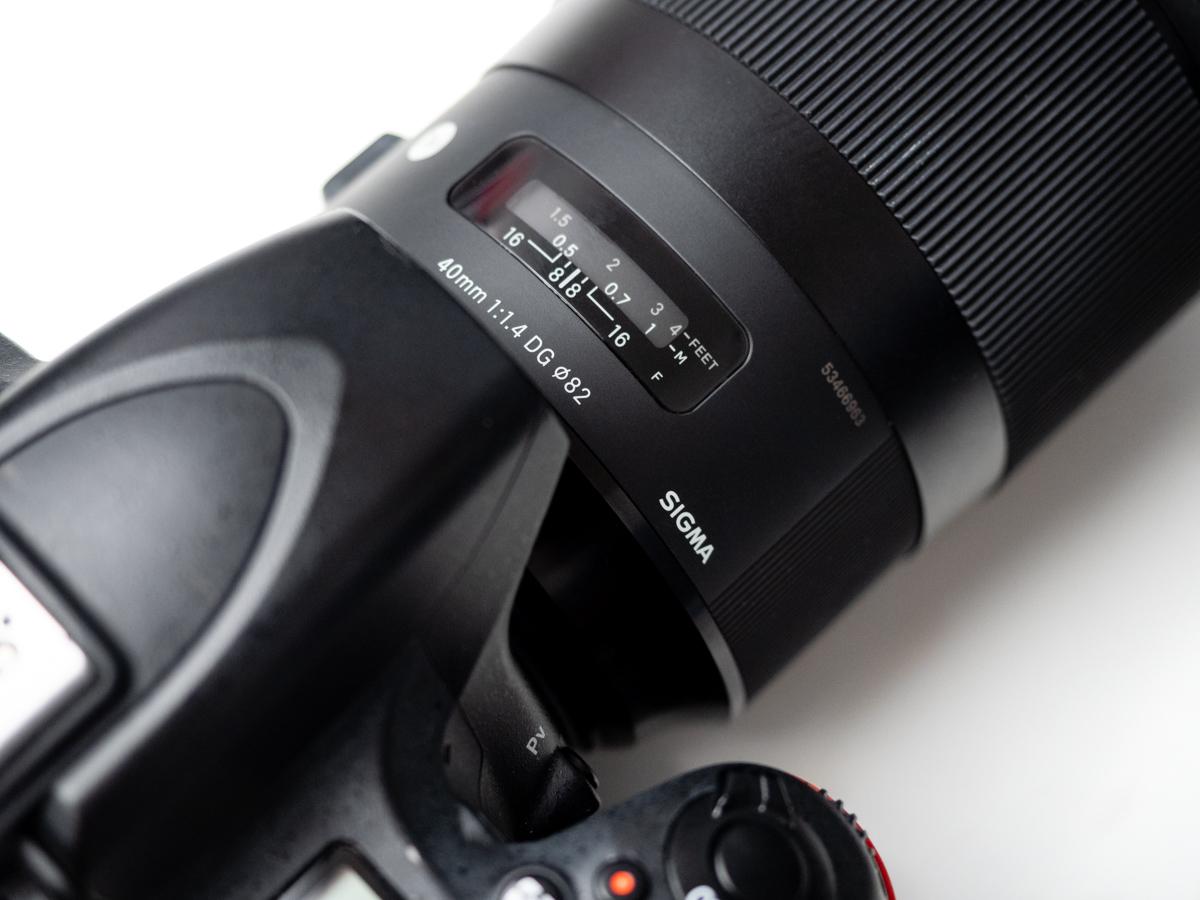 Sigma 40 mm ART