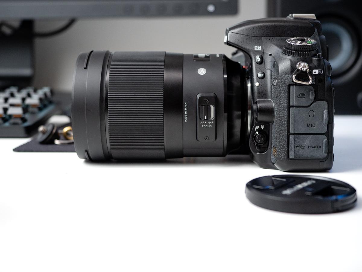 Sigma 40 mm f/1.4 ART