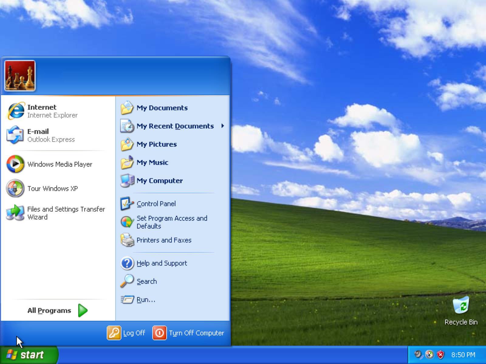 Windows XP historia