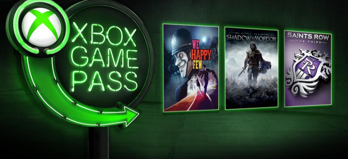 """""""Netflix dla gier"""" rozpycha się łokciami. Śródziemie: Cień Mordoru i We Happy Few teraz w Xbox Game Pass"""