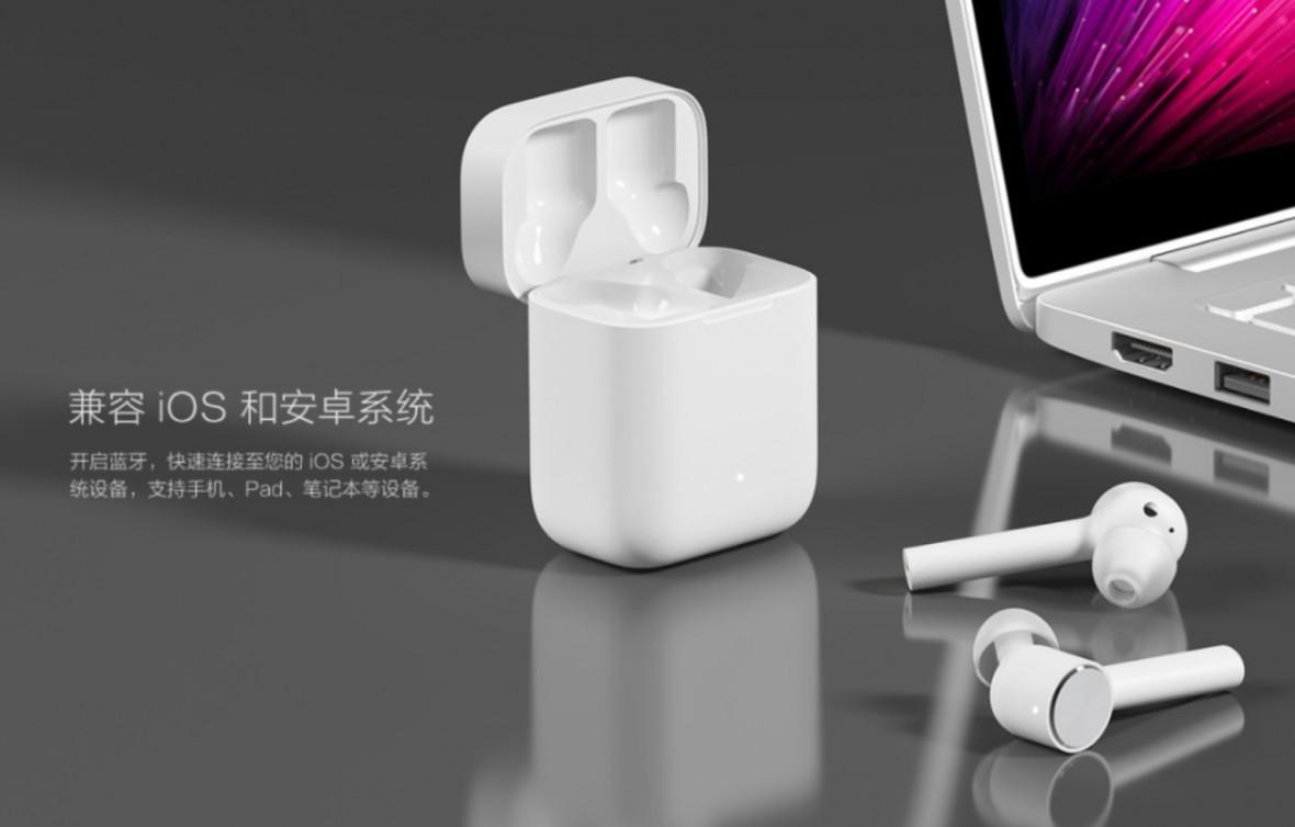 Xiaomi stworzyło klon słuchawek Apple AirPods. Kosztuje trzy razy mniej i podobno potrafi więcej