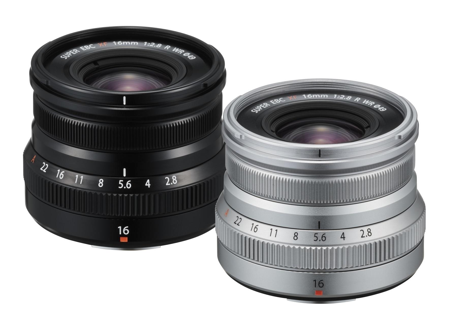 Fujinon XF 16 mm f/2.8 R WR