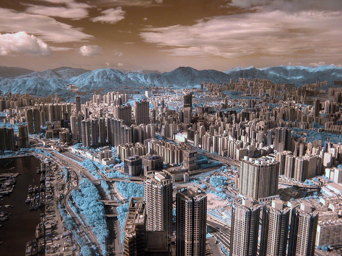 """""""Greenbelt"""", fot. Halu Chow   1. miejsce w kat. """"Greening the City"""", IGPOTY."""