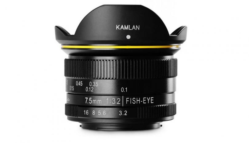 Kamlan FS 7.5 mm F 3.2