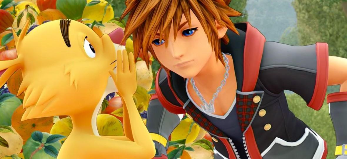 Zachwycam się fikcyjnym sklepem z grami i zabawkami w Kingdom Hearts 3. Jest nawet konsola Play Plus