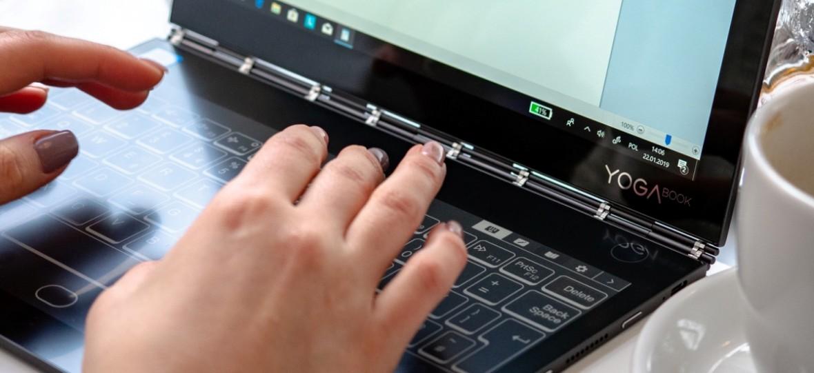 Co potrafi laptop z przyszłości? Tydzień z Lenovo Yoga Book C930