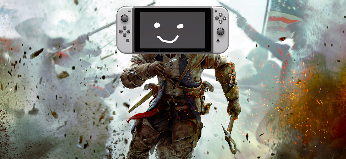 I respect Nintendo for the fact that when he plays on the Switch he looks or acts like dung, he shows it