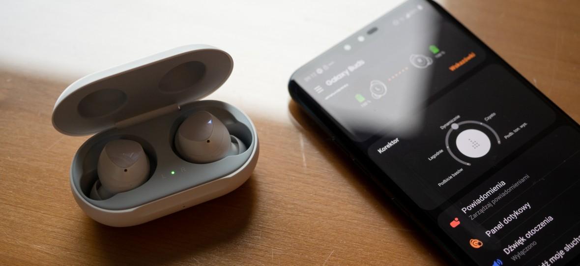 Dla tych słuchawek warto kupić Samsunga Galaxy S10 w przedsprzedaży. Sprawdziłem Galaxy Buds