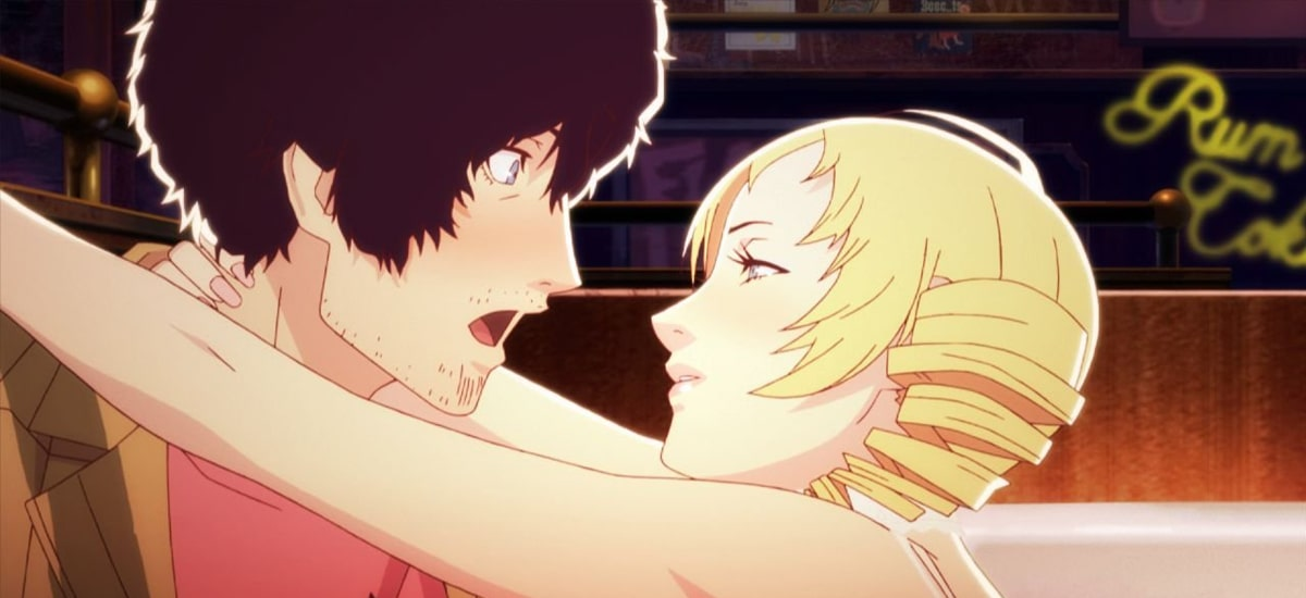 Catherine, finally on the PC. It is a surprisingly mature game with a love triangle, corpses and a herd of rams