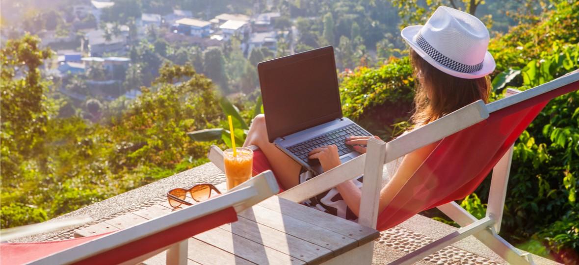 Cyfrowy nomadyzm coraz popularniejszy. Zdalna praca z dowolnego miejsca może być naszą przyszłością