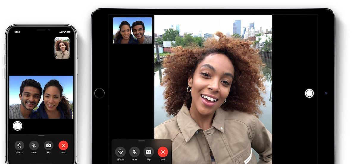 facetime iOS 12.1.4 iphone ipad apple