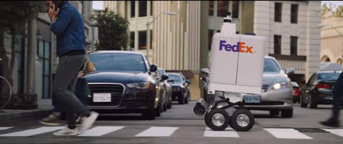 Nowy kurier firmy FedEx jest… robotem. SameDay Bot w akcji