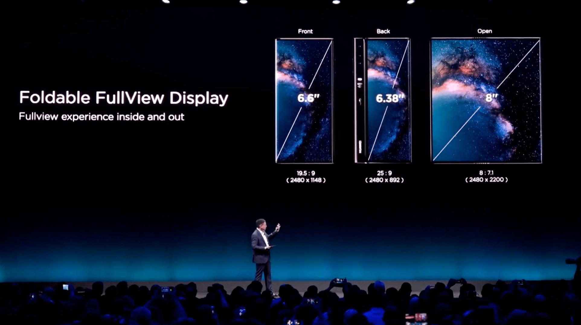 Oto Huawei Mate X - składany smartfon
