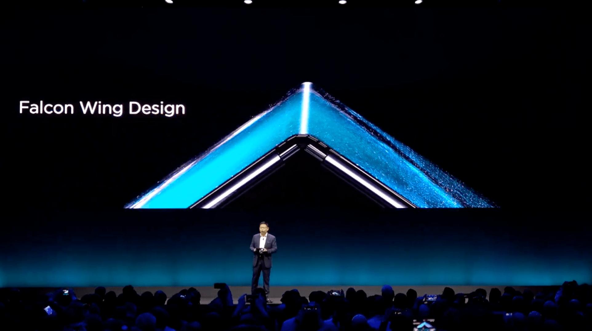 Huawei Mate X - składany ekran smartfona
