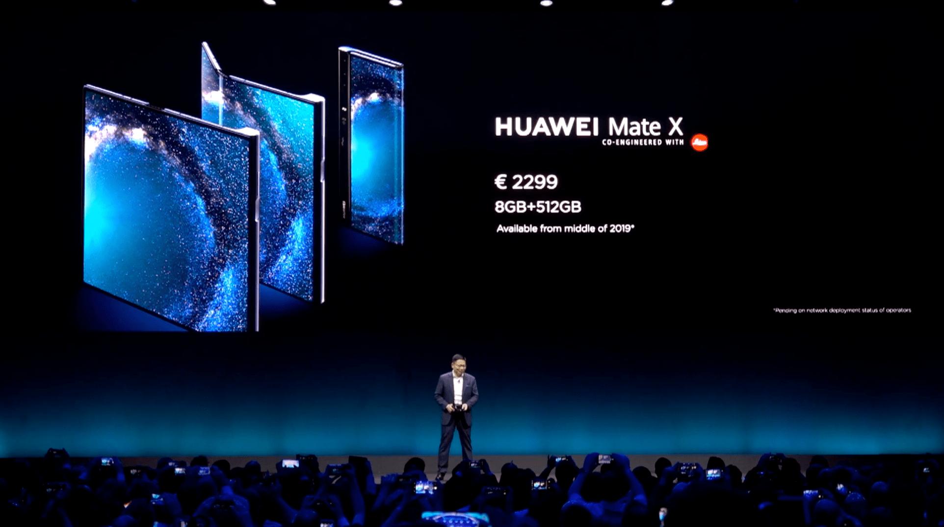 Huawei Mate X cena w euro