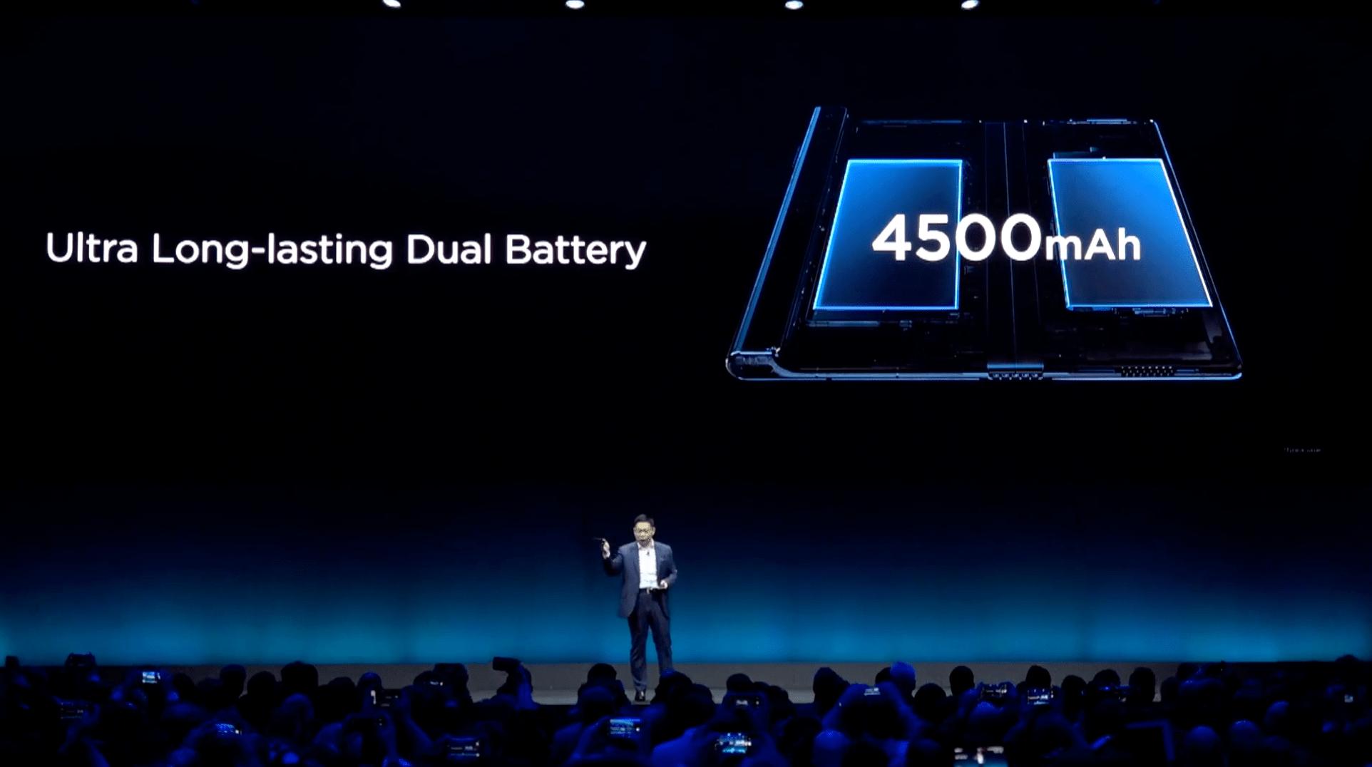 Huawei Mate X - bateria, akumulator