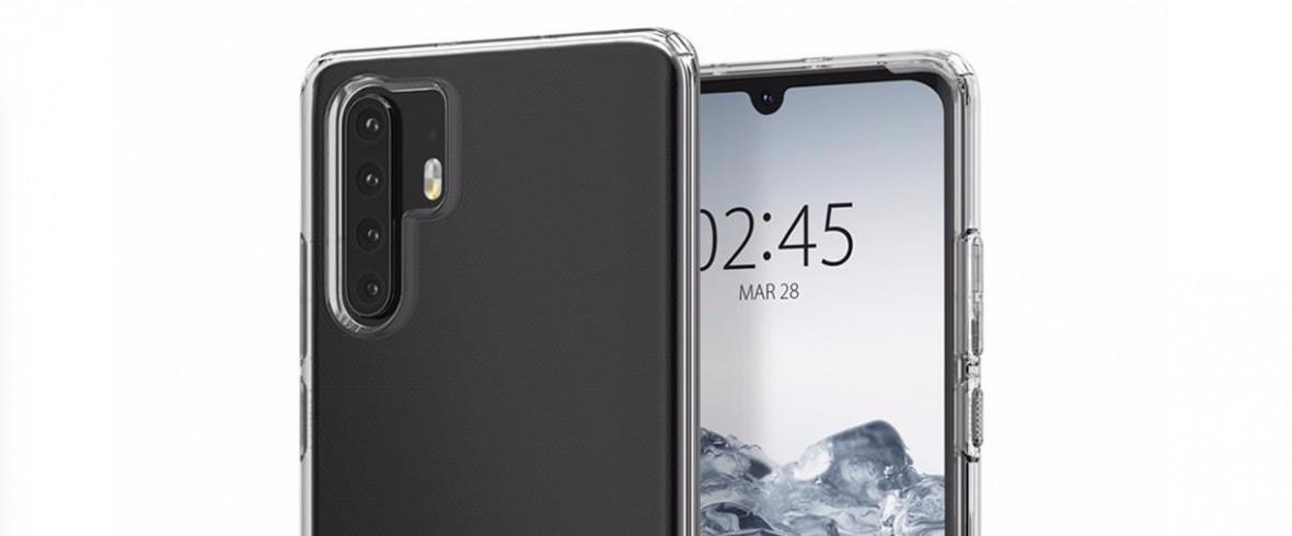 Tak wyglądają smartfony Huawei P30 i P30 Pro. Wyciekły na stronie producenta etui
