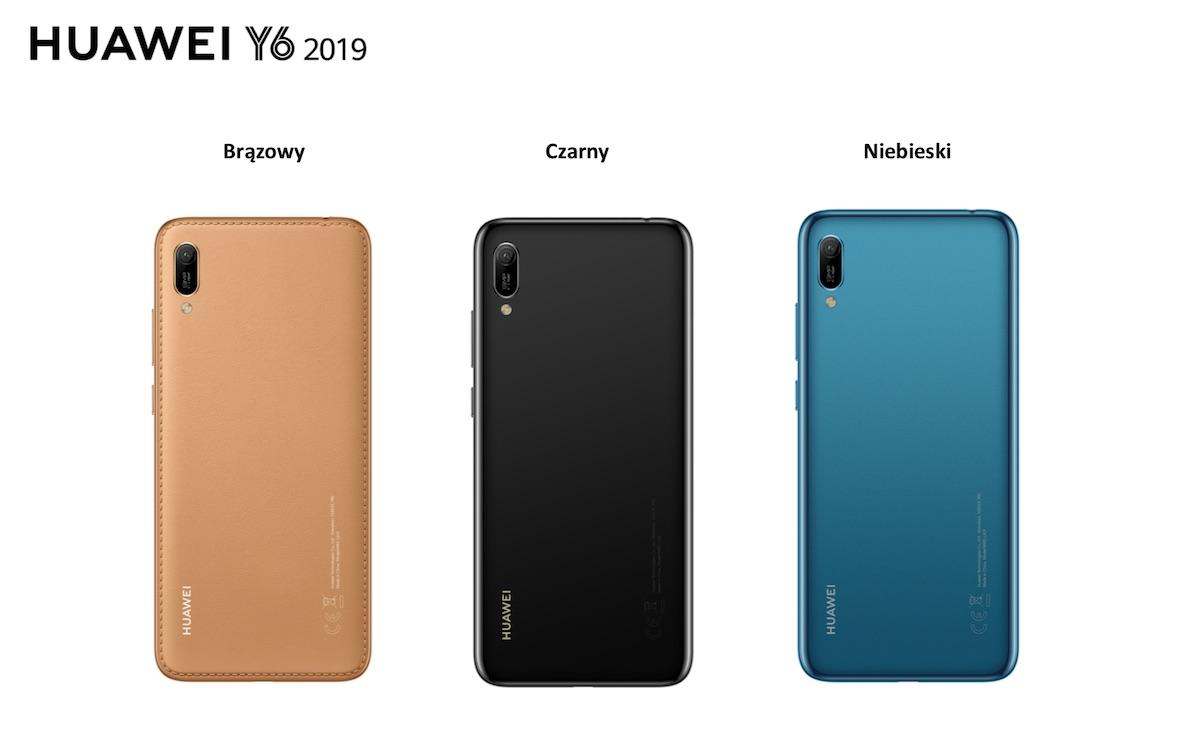 huawei y6 2019 kolory
