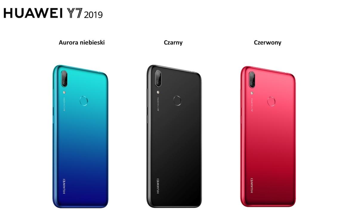 huawei y7 2019 kolory