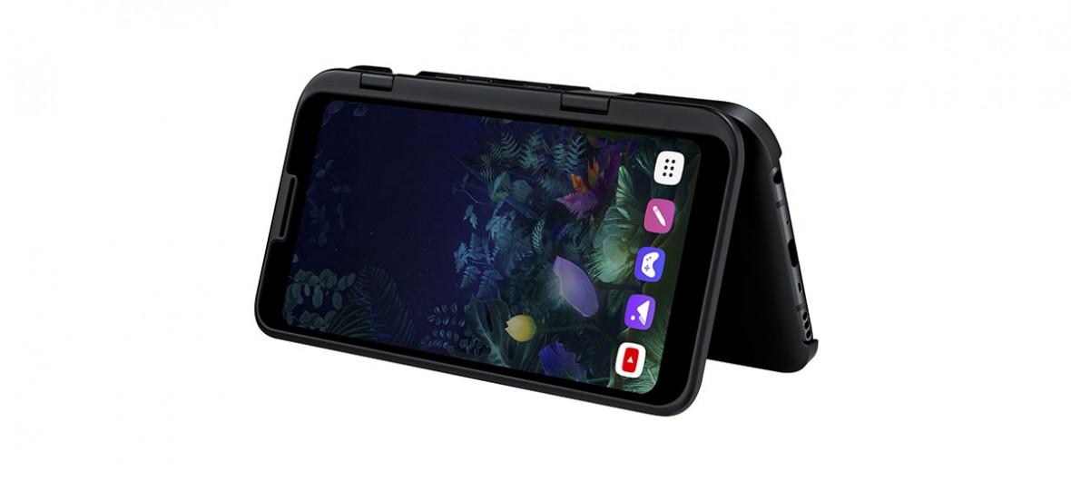 Pomysł LG na składany smartfon jest absolutnie szokujący. Oto LG V50 ThinQ 5G