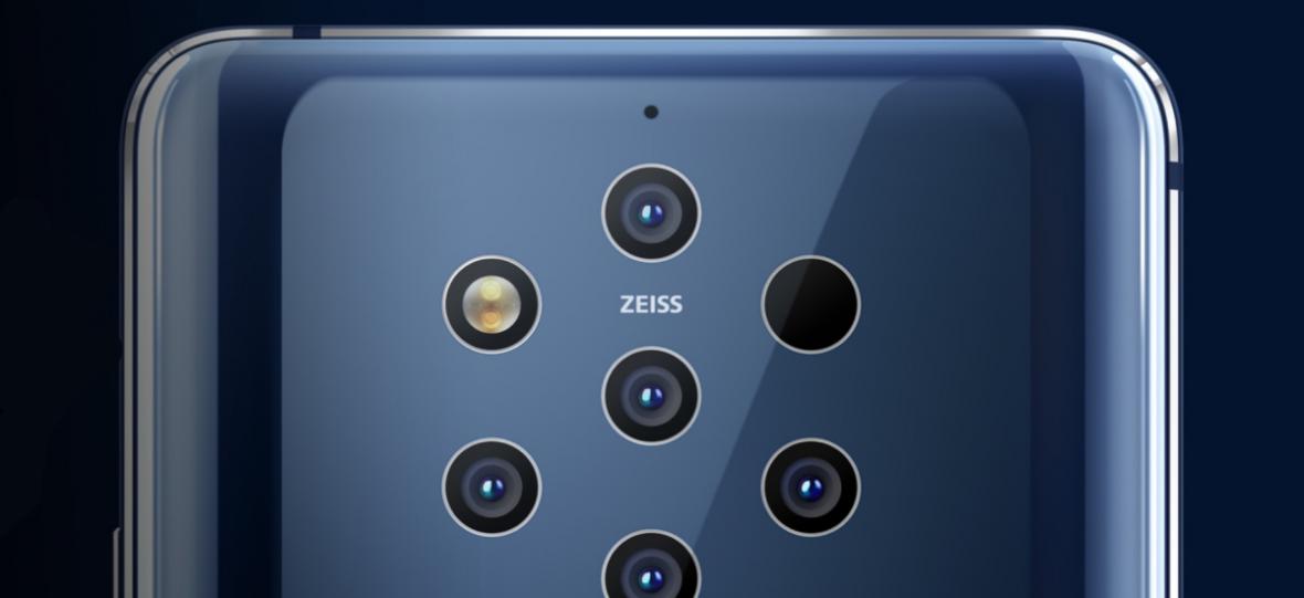 Czysty Android, rozsądna cena i aż pięć aparatów z tyłu. Nokia 9 PureView oficjalnie