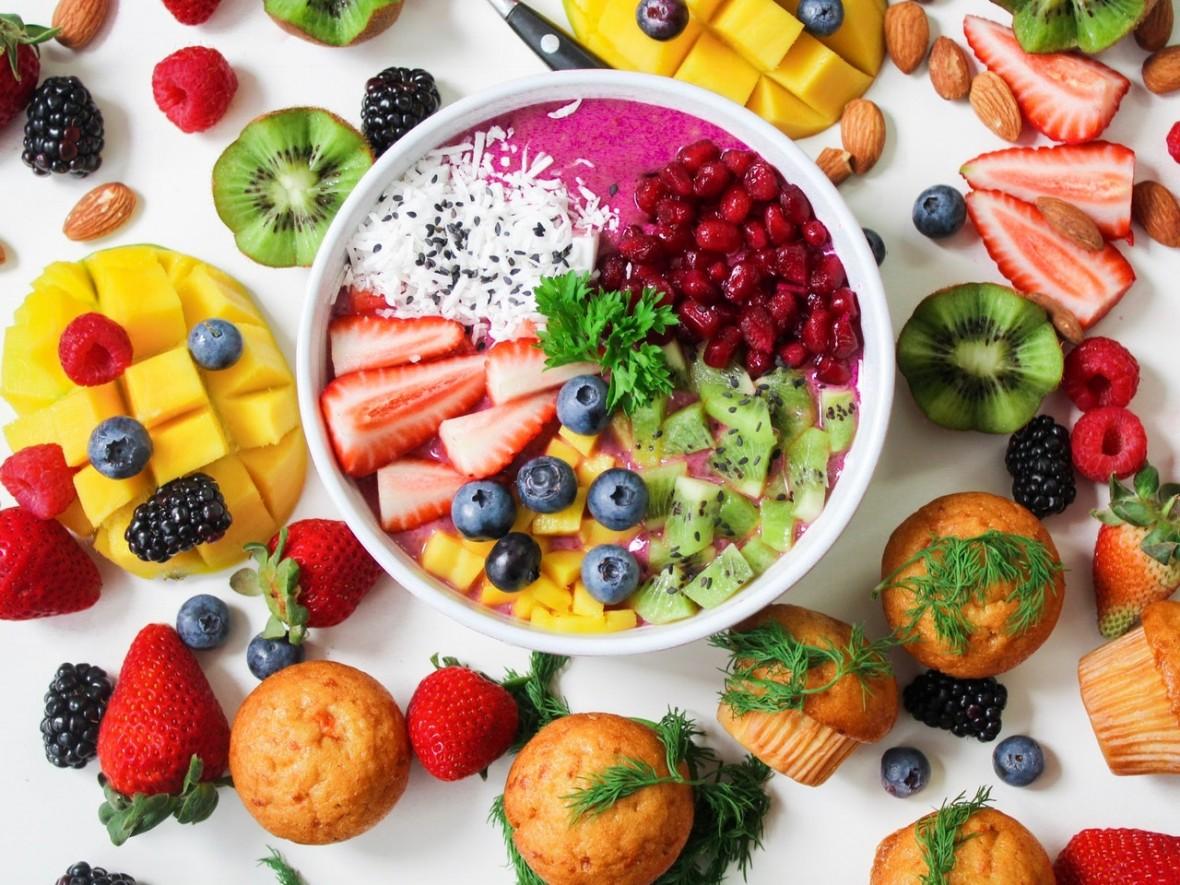 Znalezione obrazy dla zapytania jedzenie zdrowe