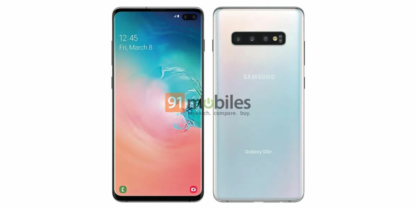 Samsung Galaxy S10 Plus w pełnej krasie.