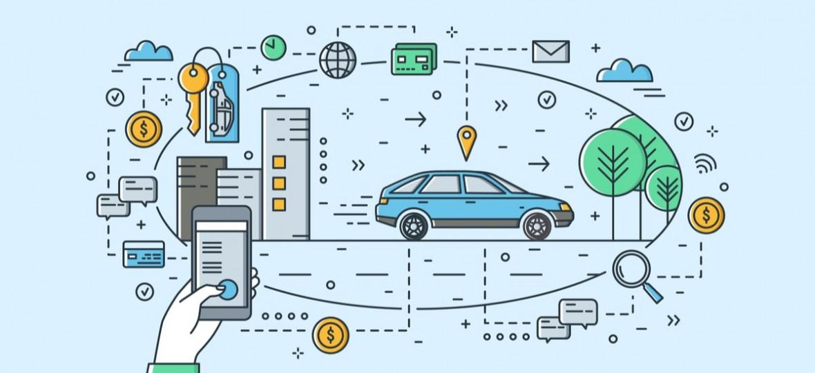Aplikacja Wheelme powalczy z chaosem. Znajdziemy w niej pojazdy carsharingowe różnych dostawców