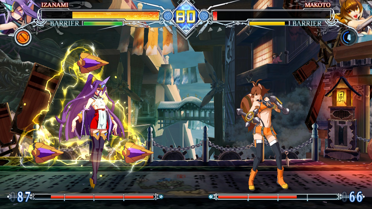 I fought my first fight after an hour of talks  BlazBlue