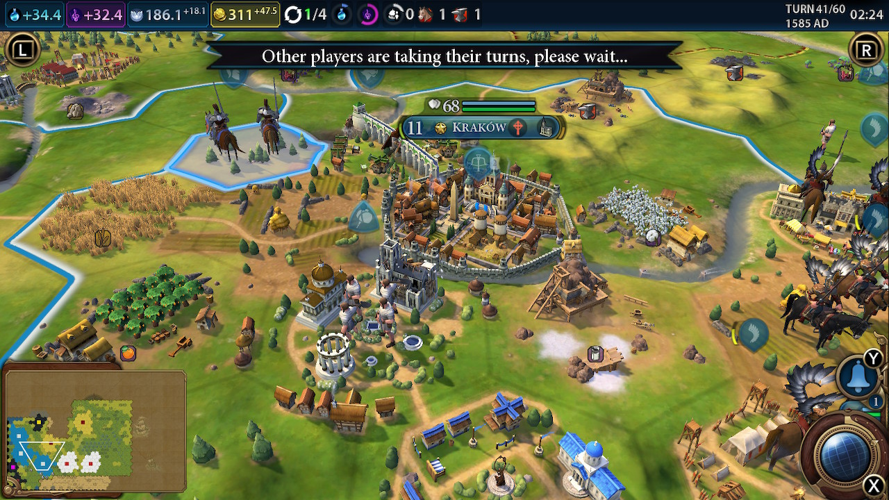 Civilization VI on Nintendo Switch is a surprisingly good strategy for  console exclusivity - a review