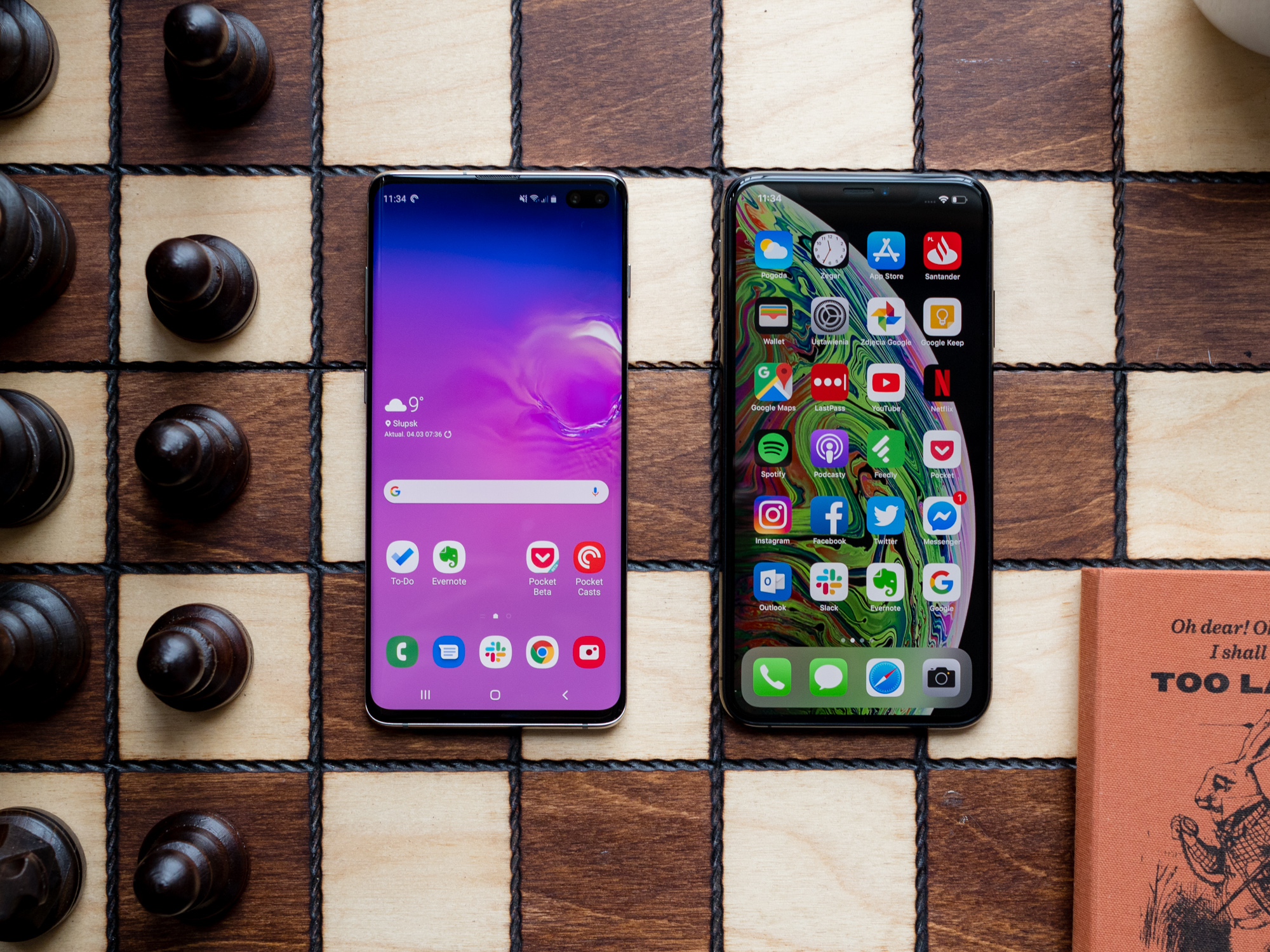 Galaxy S10 Plus czy iPhone XS Max