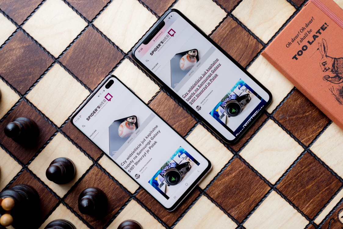 Samsung Galaxy S10 Plus kontra iPhone XS Max – wielkie porównanie topowych smartfonów