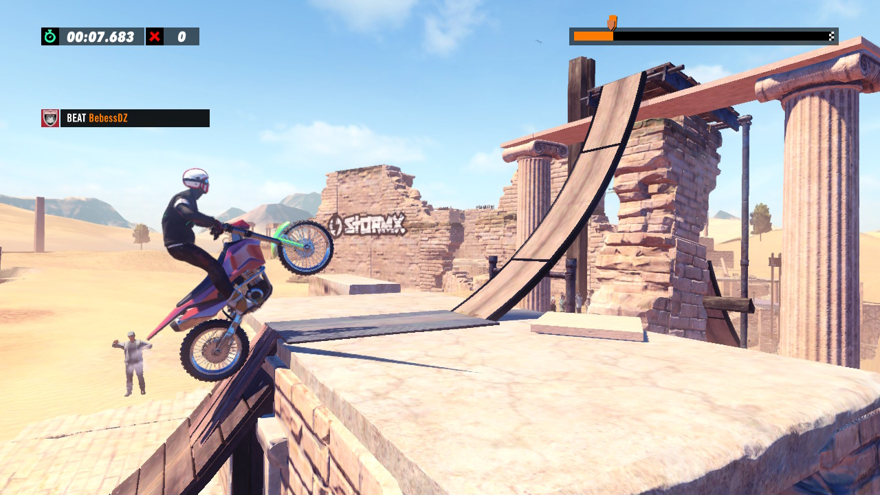 "Trials Rising is a great game ""in between"". The heir of Elasto Mania is like a return to 2006 - a review"