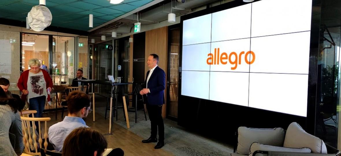 Wyszukiwanie obrazem, śledzenie paczek i małe co nieco dla sprzedawców. Allegro ujawnia plany na 2019
