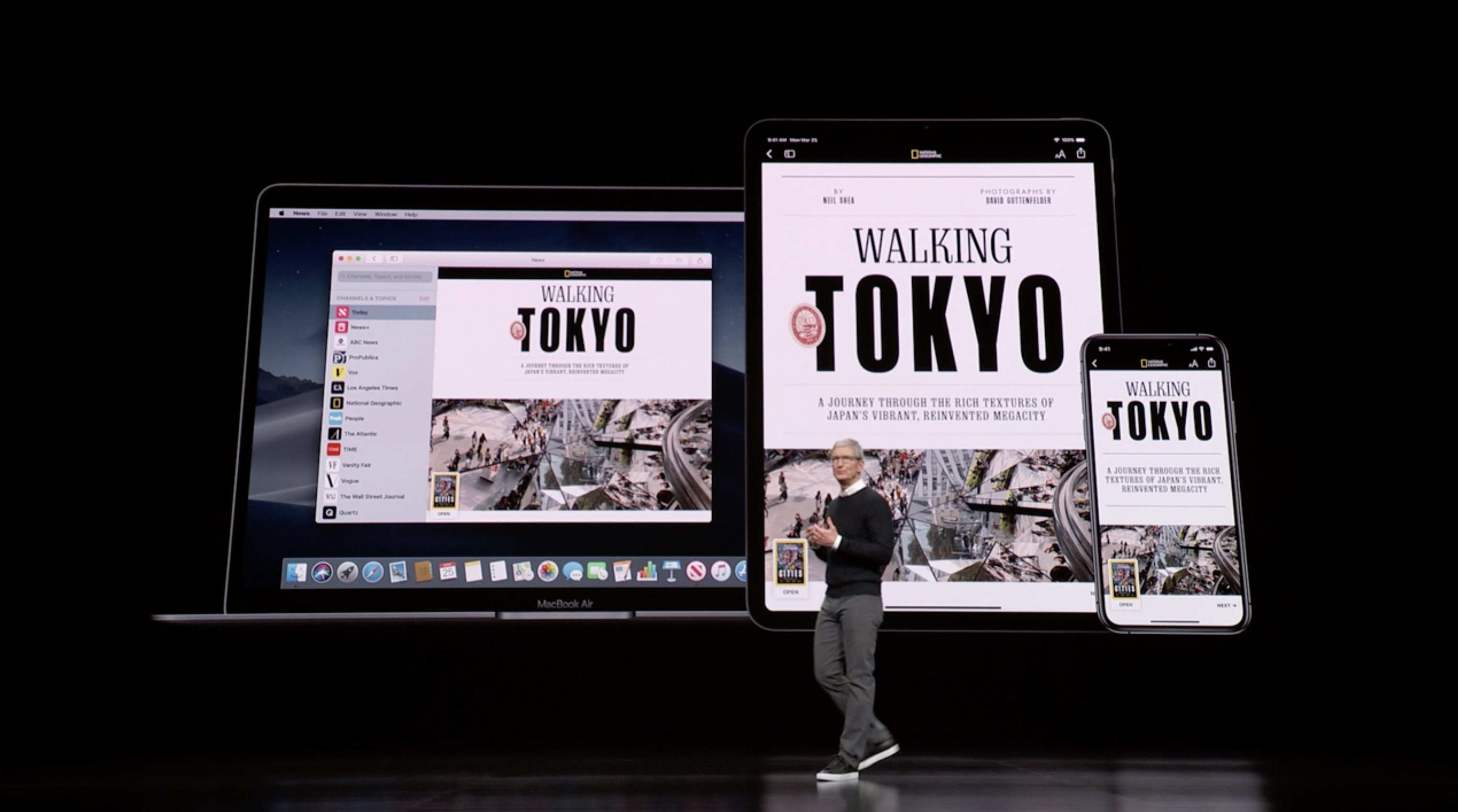 """Movable magazine covers make an impression like the """"Daily Prophet"""" in Harry Potter. Here s Apple News +"""