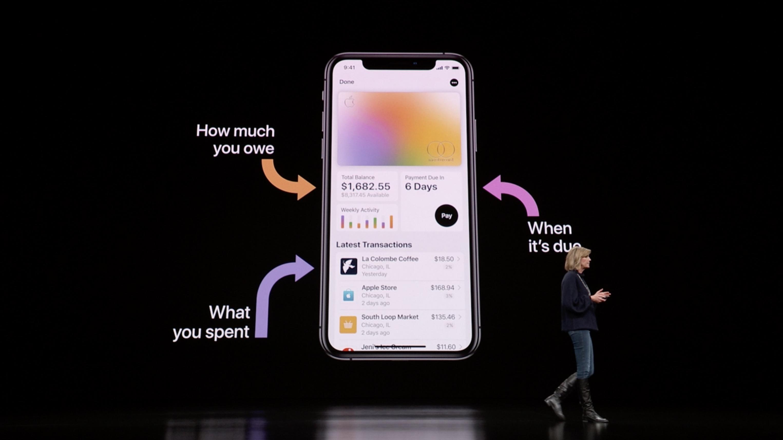 Apple Card - karta płatnicza i aplikacja bankowa od Apple