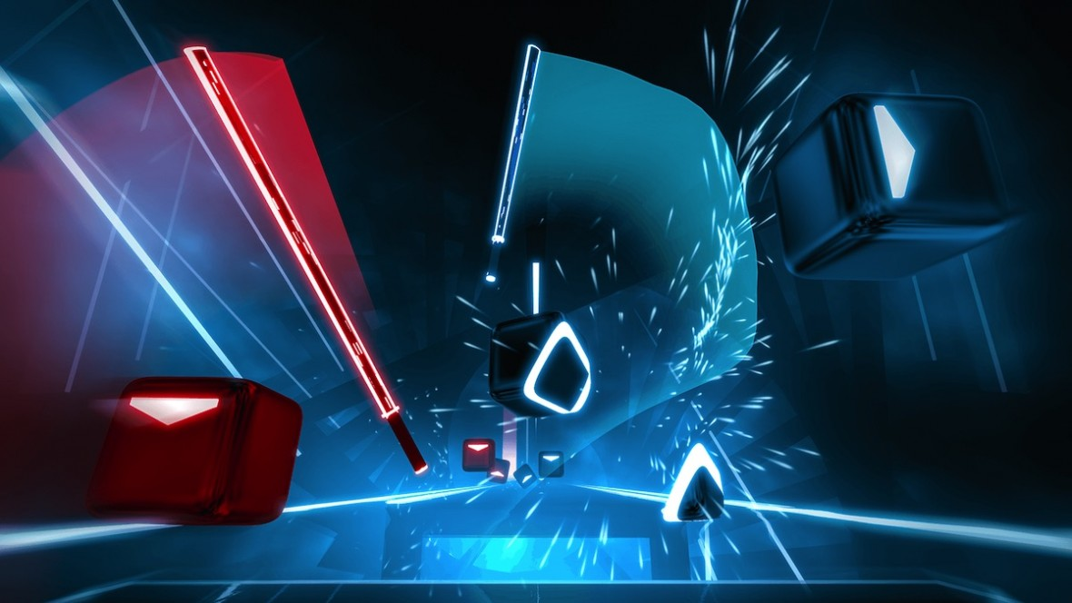 Beat Saber, czyli gra na PS VR łącząca Guitar Hero i Fruit Ninja z mieczami świetlnymi dostała DLC. Jest sztos