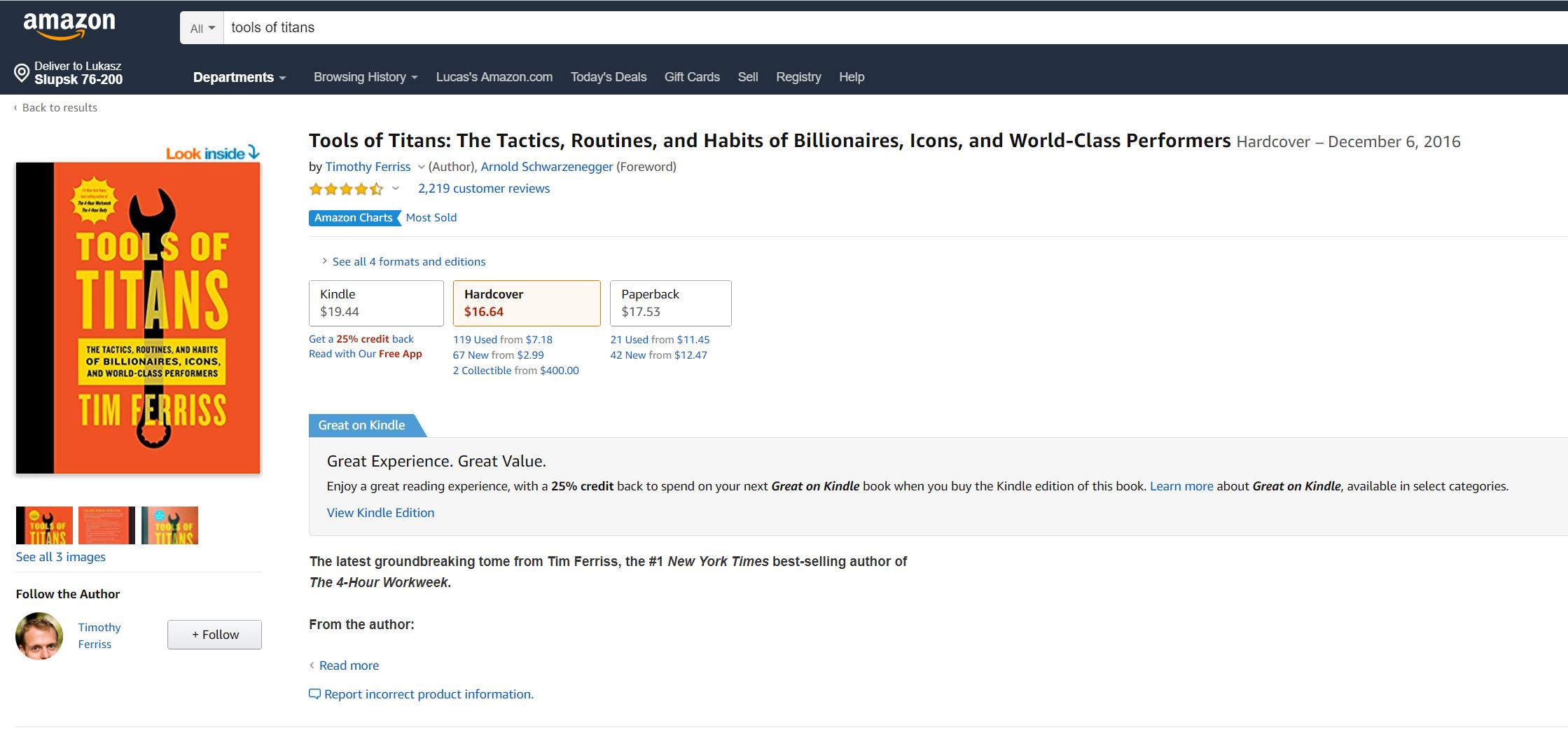 Ceny e-booków amazon