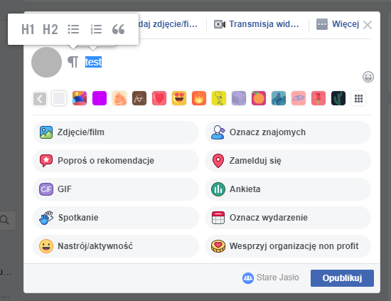 Jak zrobić listę na Facebooku?