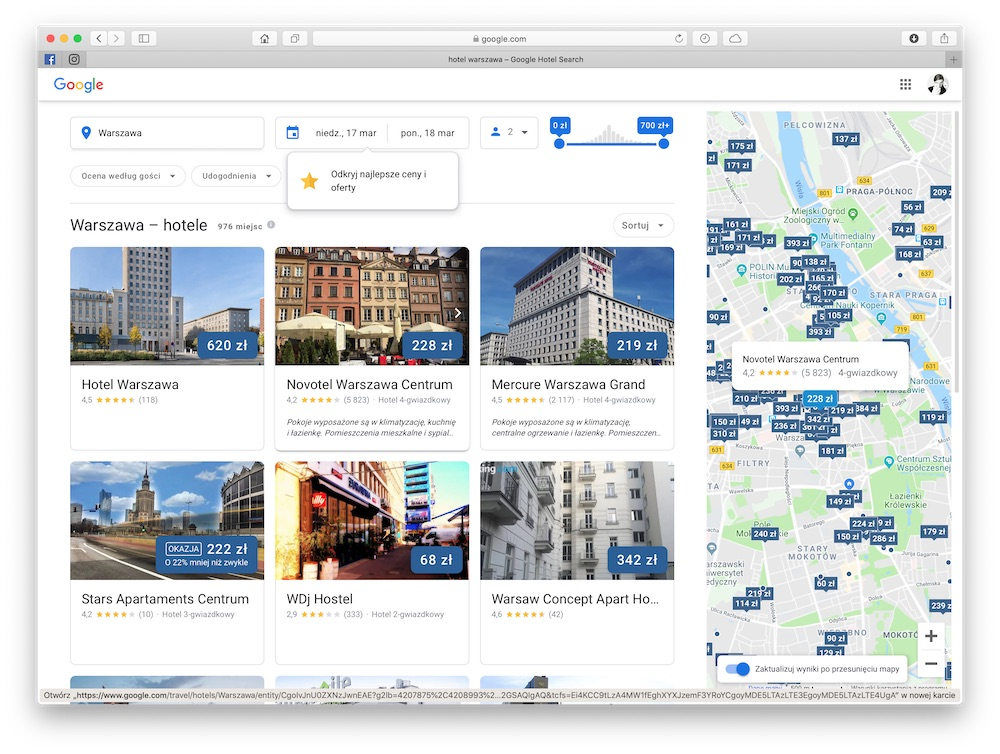 google hotels 1