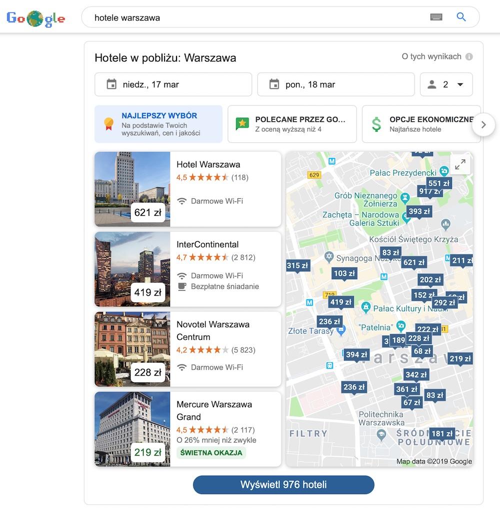 google hotels 2