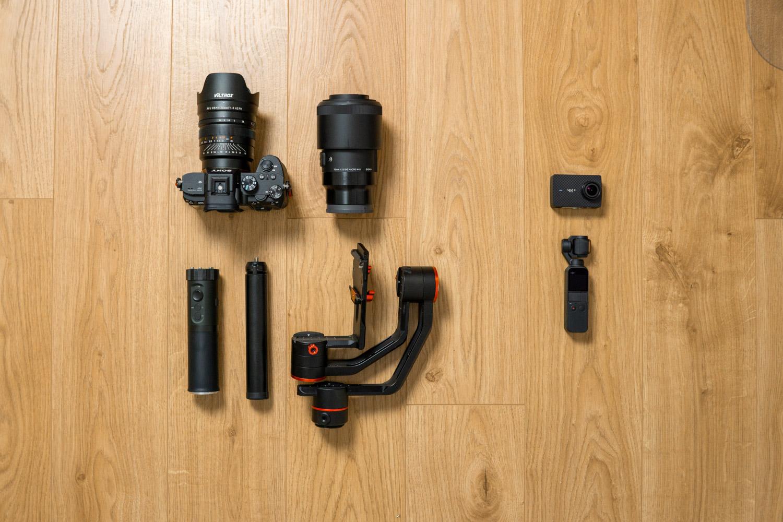 małe kamery kontra dże