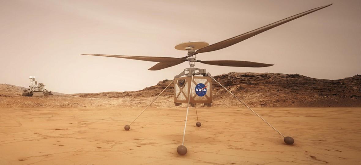 Łaziki to przeżytek. NASA chce wysłać na Marsa ten mini-helikopter