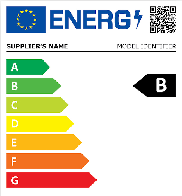 In two years, new energy efficiency labels