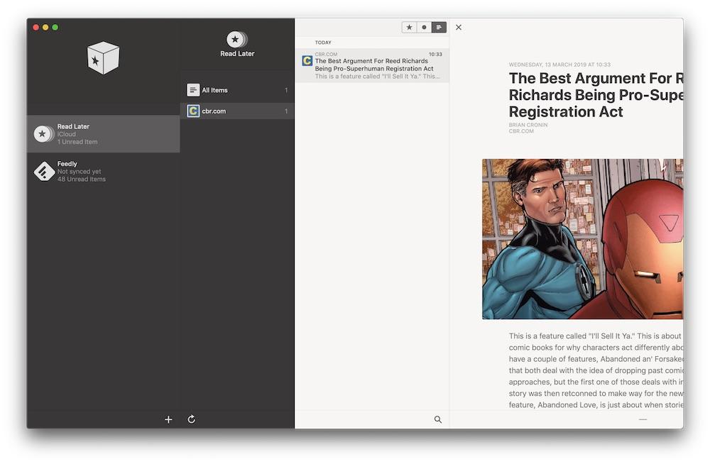 reeder 4 beta macOS 2