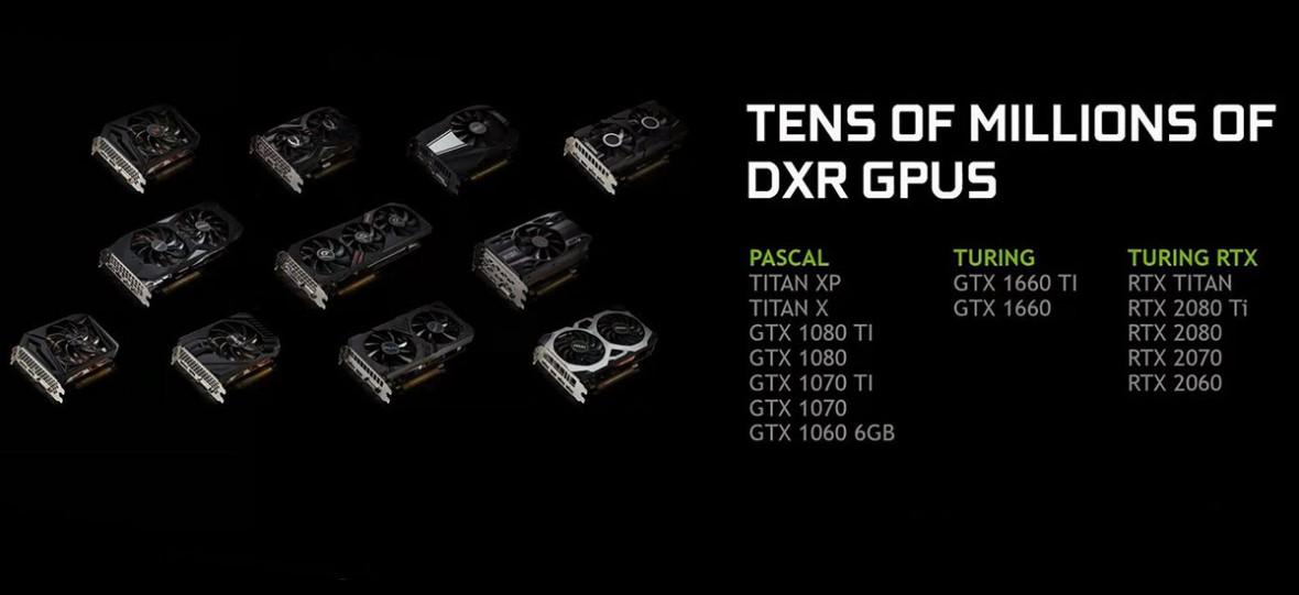 Jeżeli kupiłeś GeForce'a RTX dla śledzenia promieni mamy dobrą wiadomość. Ray-tracing trafi do starszych GPU