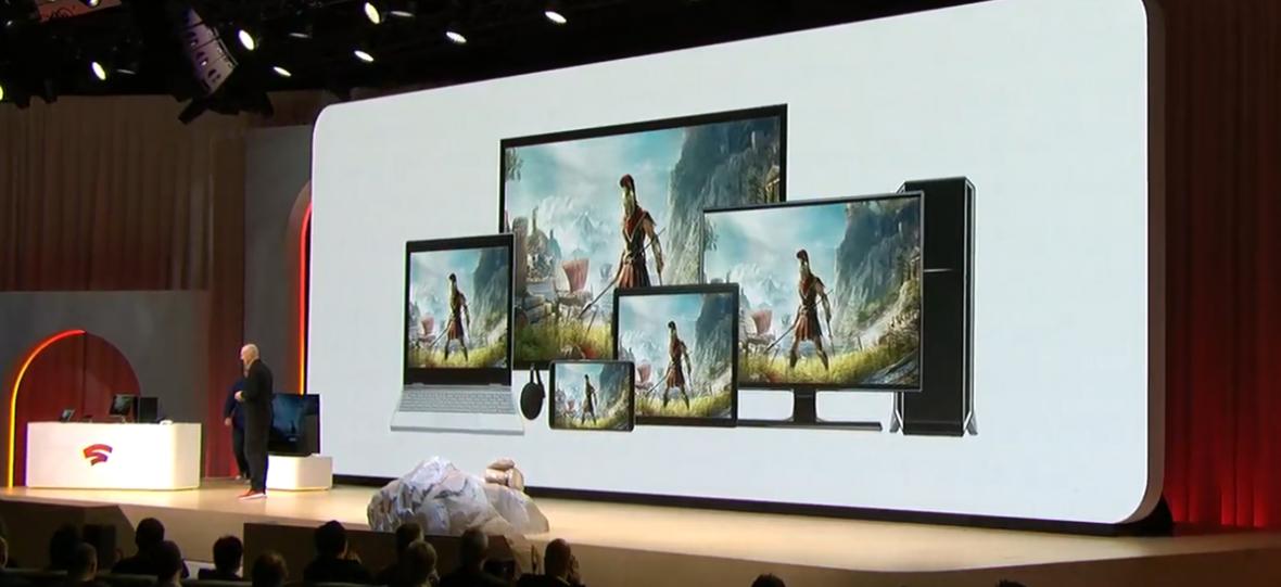 Wszystkie stadia grania. Google zaprezentował swoją platformę streamingową do gier
