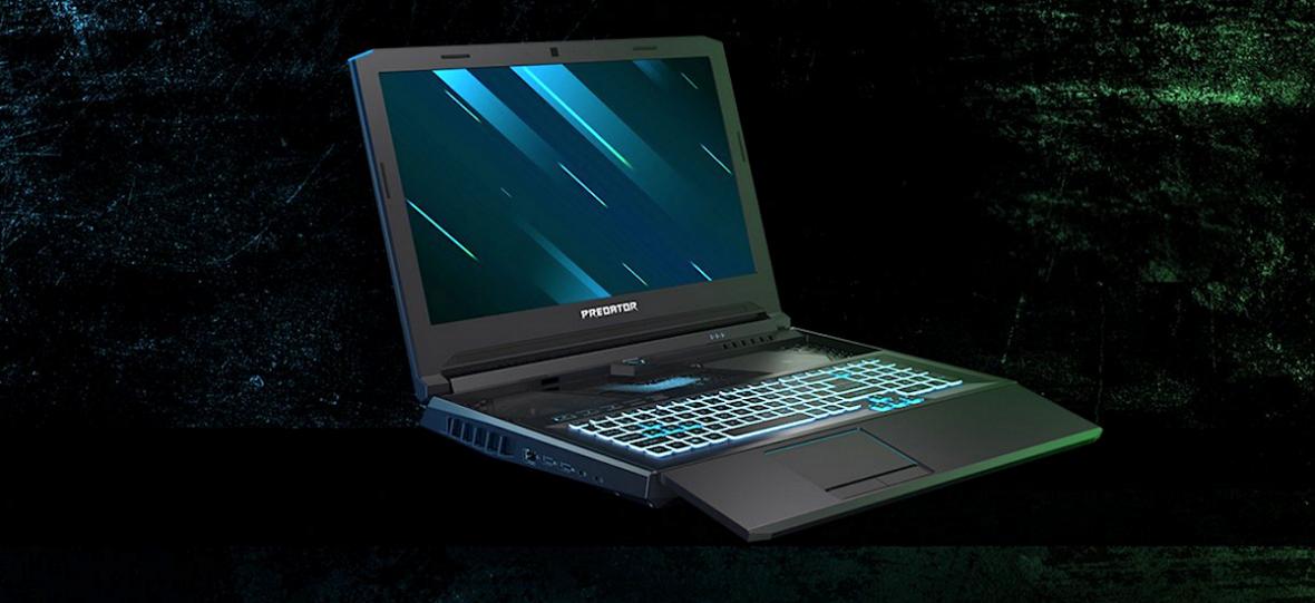Tak wygląda Laptop Acer Predator Helios 700 z unikalną wysuwaną klawiaturą